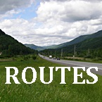 East Coast RV Route Maps