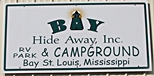 RVing in Bay St Louis, Mississippi
