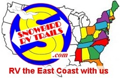 Best East Coast Snowbird RV Routes