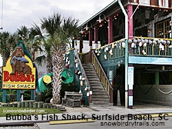 Good food dining at mom pop restaurants on the popular for Bubbas fish shack