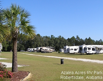 RVing in Robertsdale, Alabama