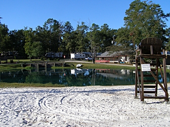 RVing in Florida Springs RV Park