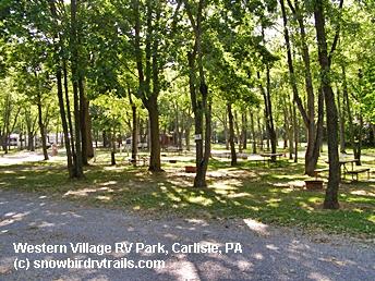 Best economical rv park just off i 81 near carlisle pa