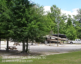 Best Half Price South Carolina Rv Campground Off I 95 Near