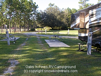 RVing in Lake City, Florida