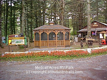 Welcome to Medcalf Acres Riverfront Campground & RV Park, Schroon Lake, NY