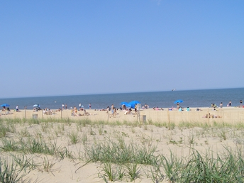 On the ocean at Rehoboth Beach