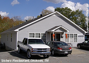 Sisters Restaurant in Dickson, Tennessee