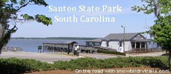 Santee State Park boat launch