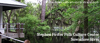 Suwannee River in White Springs CFlorida