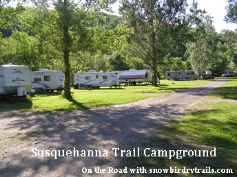 Susquehanna Trail Campground in Oneonta, NY