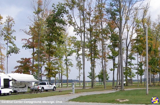 Full hookup campgrounds in ohio
