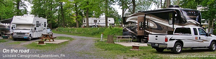 Licldale RV Park, Jonestown, PA