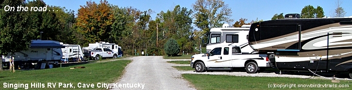 RVing in Cave City Kentucky