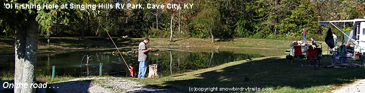 Fishing & RVing in Kentucky