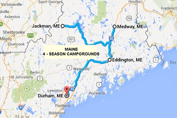 Off Season Campgrounds in Maine