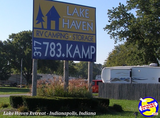 Lake Haven Retreat entrance