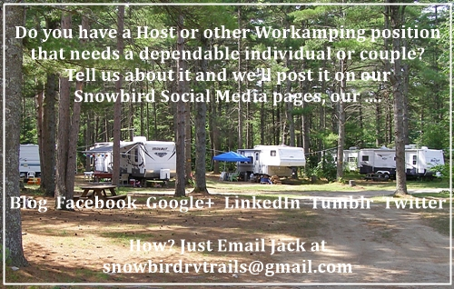 Where to Find Open Current Workamping Host and Campground Jobs for ...