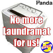 Panda portable washing machine for your RV