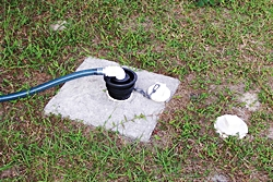 Hook up rv to septic tank